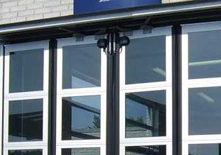 Автоматические складчатые ворота Crawford FD2050F