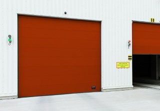 Cкоростные подъёмно-секционные ворота OH1042S