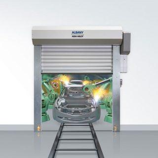 Скоростные ворота Albany для высокоавтоматизированных отраслей
