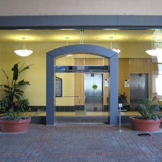 Встроенный привод для распашных дверей Besam
