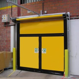 Высокоскоростные ворота Albany для аварийных выходов